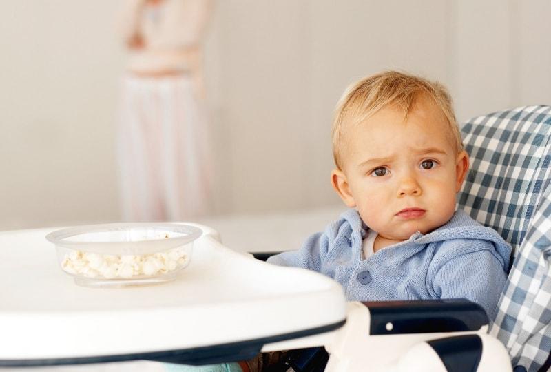 哺乳ストライキ中の授乳・離乳食はどうする?