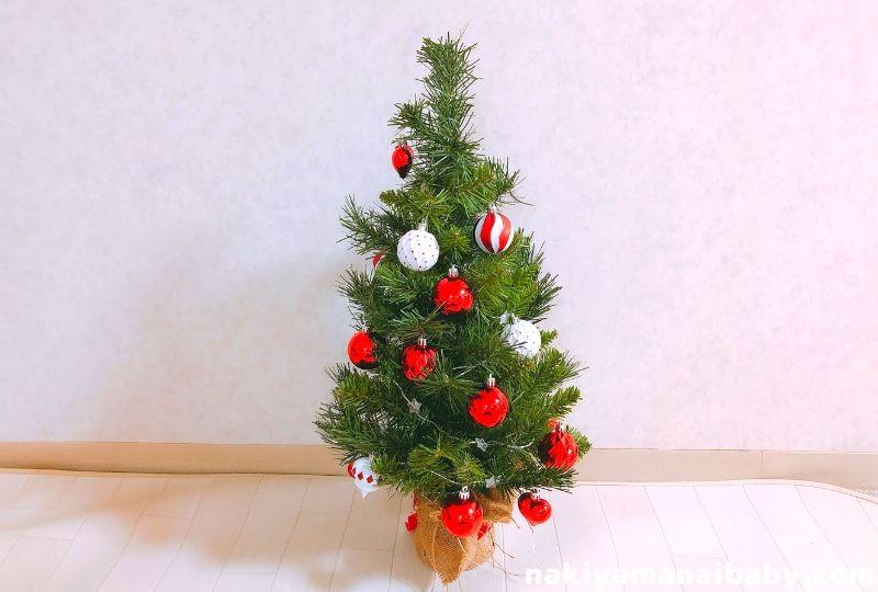 飾り付けされたクリスマスツリーの写真