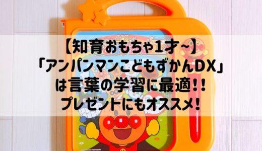 【知育】アンパンマンことばずかんDXは言葉の学習に最適だった!