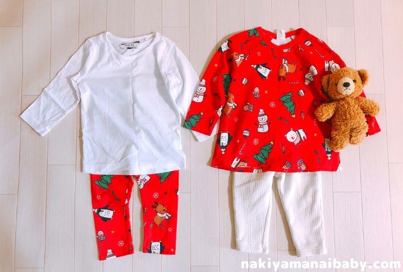 H&Mクリスマスコスチュームのコーデ例